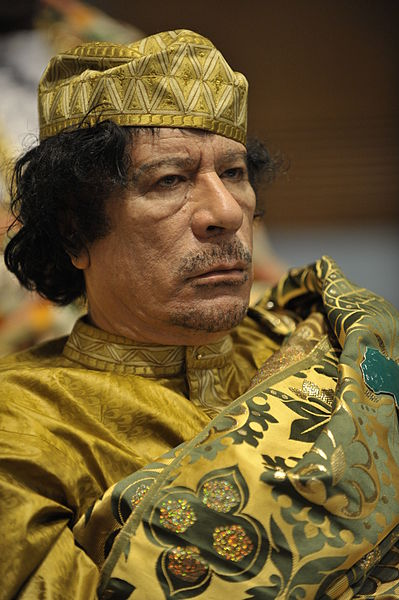 muammar al gaddafi nurse. THE DESERT LION GALLANT